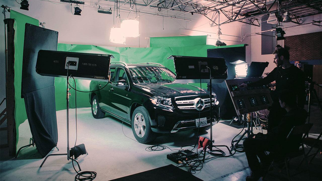 Carpool Karaoke On Green Screen Behind The Scenes Mac House